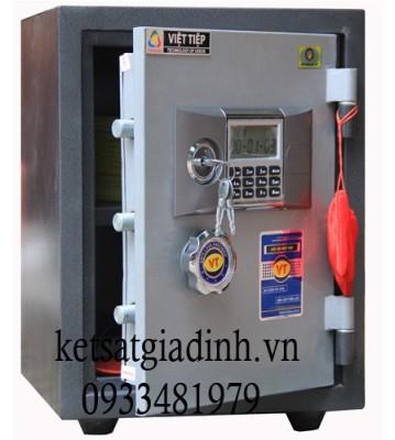 Két sắt Việt Tiệp khóa điện tử báo động VE48